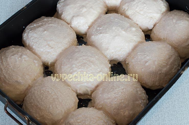 Булочки с рисовой мукой