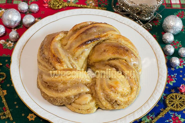 Оформление пирога из дрожжевого теста рецепт с фото пошагово