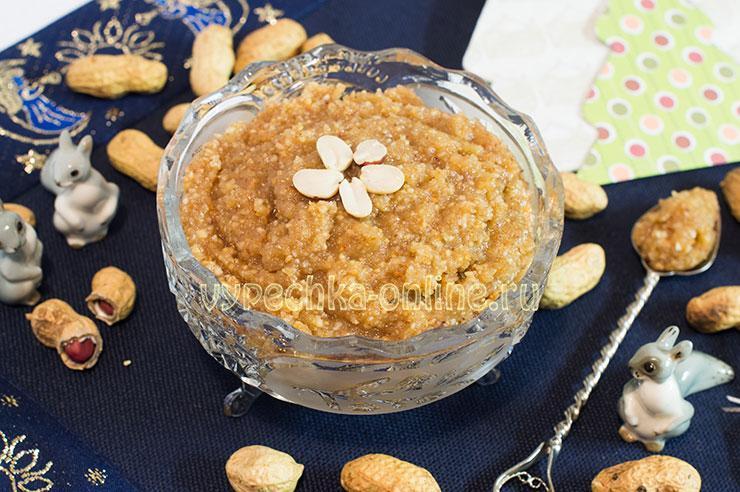 Ореховая начинка для пирогов