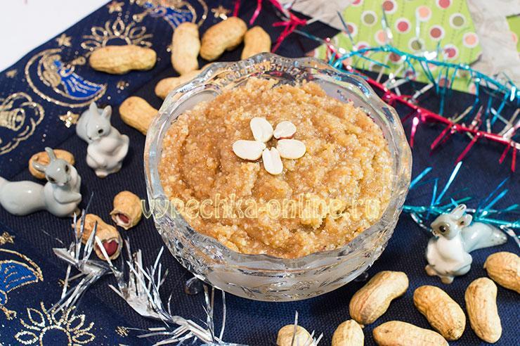 Ореховая начинка для выпечки