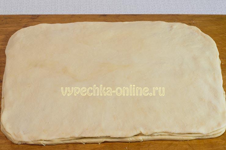Пирог на французском тесте