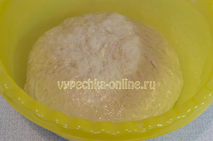 Постное тесто с картофельным пюре