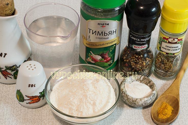 Постное печенье на воде рецепт