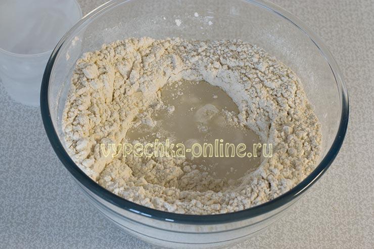 Тесто на рисовом отваре постное