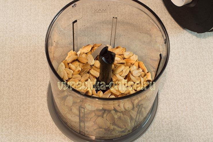Молотый арахис
