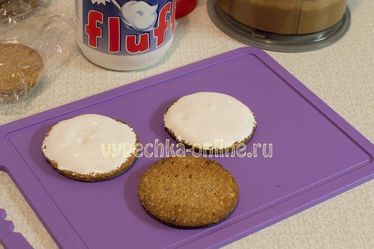 Рецепт с маршмеллоу Marshmallow fluff (Маршмеллоу флафф)