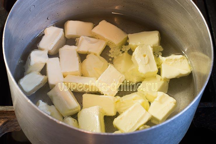 Масло, вода