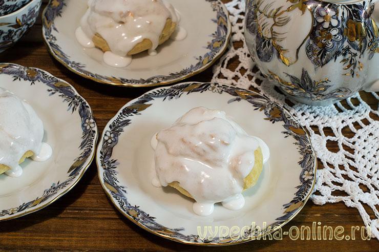 Заварные пирожные рецепт с фото в домашних условиях пошагово