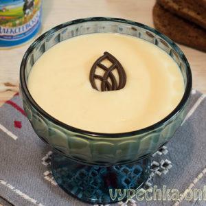 Крем из сгущёнки и масла сливочного густой для бисквитного торта – как сделать, рецепт с фото