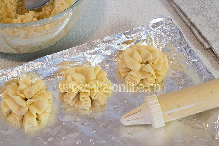 Рецепт печенья курабье в домашних условиях с фото