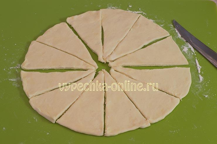 Творожные рогалики рецепт с фото пошагово в духовке