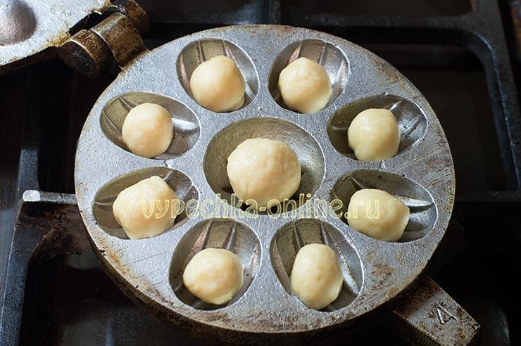 Печенье орешки со сгущенкой старый рецепт на газу