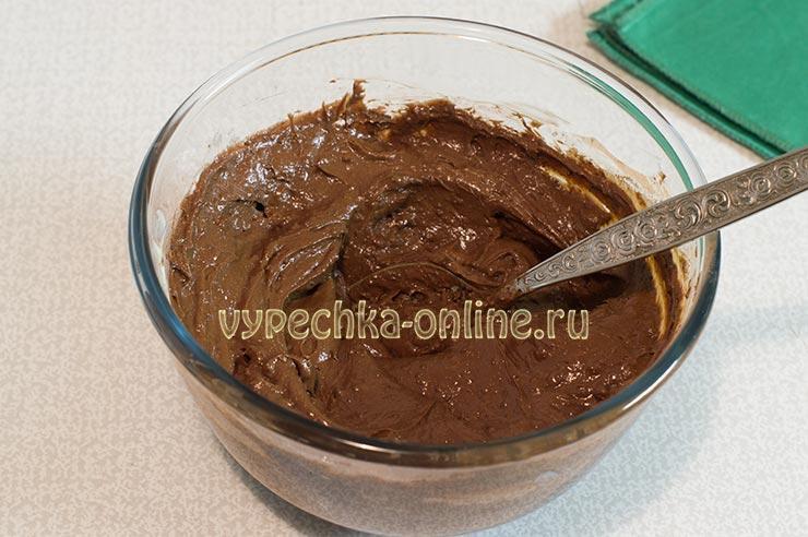 Шоколадный крем из какао и масла