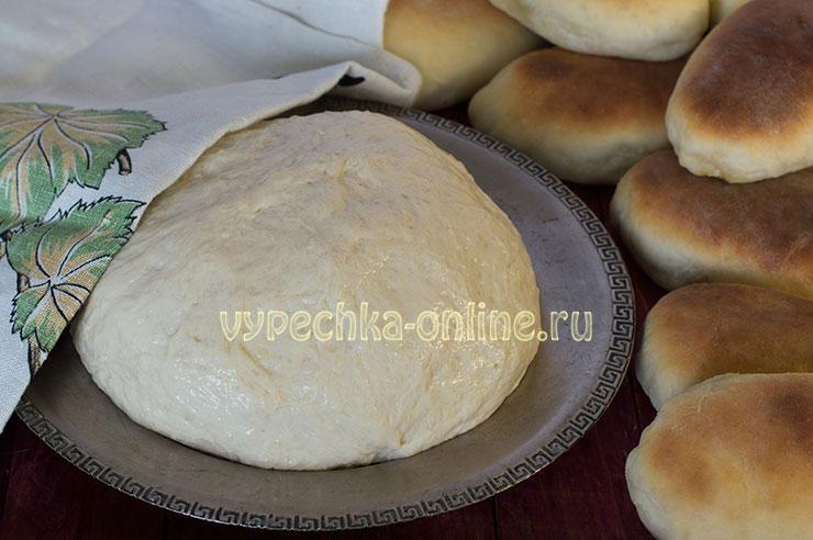 Тесто для пирожков дрожжевое очень вкусное как пух на молоке
