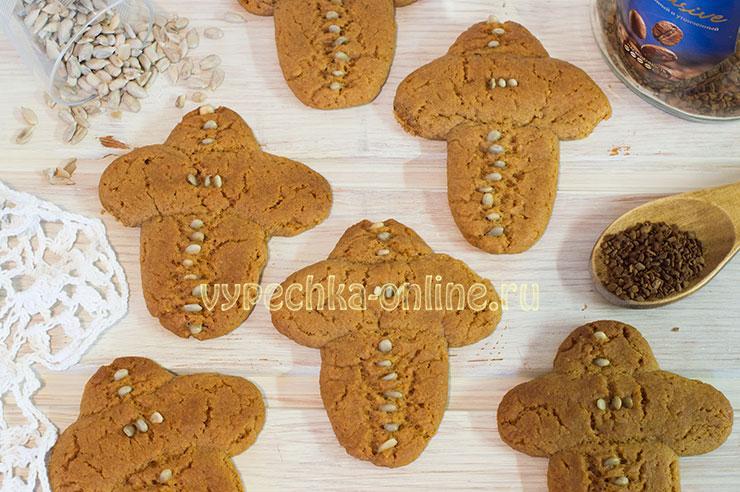 Печенье Кресты на Крещение сдобное с мёдом – рецепт с фото