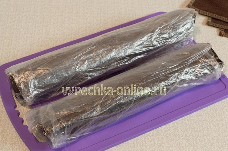 Колбаска шоколадная рецепт из печенья с шоколадом, какао и молоком в домашних условиях