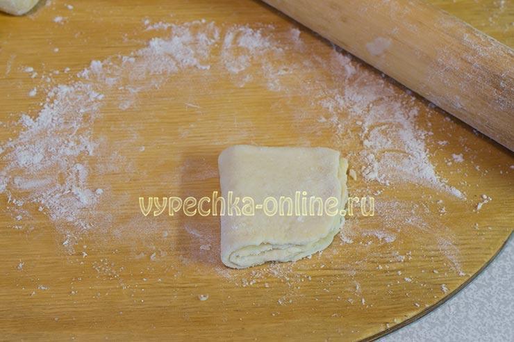 Печенье из творога треугольники с сахаром домашних условиях рецепт с фото