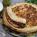 Блины из гороховой муки на кефире – рецепт с фото