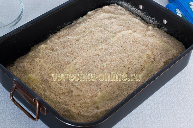 Картофельная запеканка с мясным фаршем в духовке