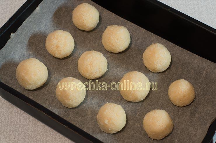 Печенье Кокосанка в домашних условиях ПП