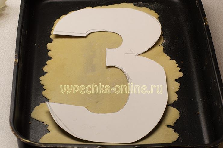 Торт на 23 февраля без мастики своими руками