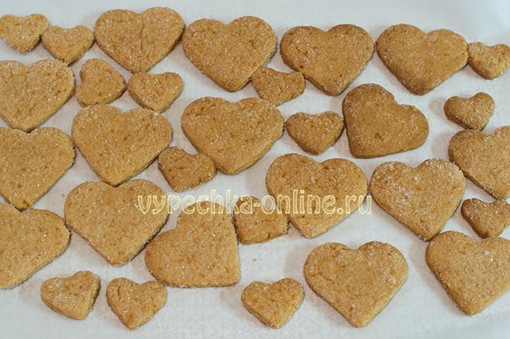 Печенье на день влюбленных своими руками