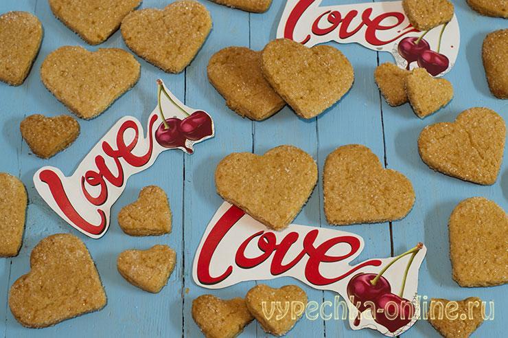 Печенье на день влюбленных с мёдом своими руками – рецепт с фото