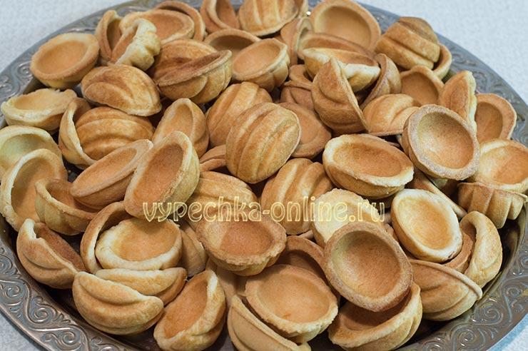 Печенье орешки со сгущенкой рецепт как в детстве