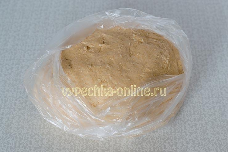 Несладкое печенье на кефире