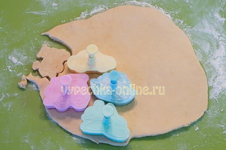 Соленое печенье на кефире