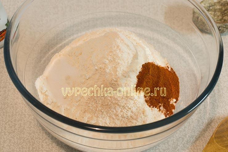 Мука, соль, паприка