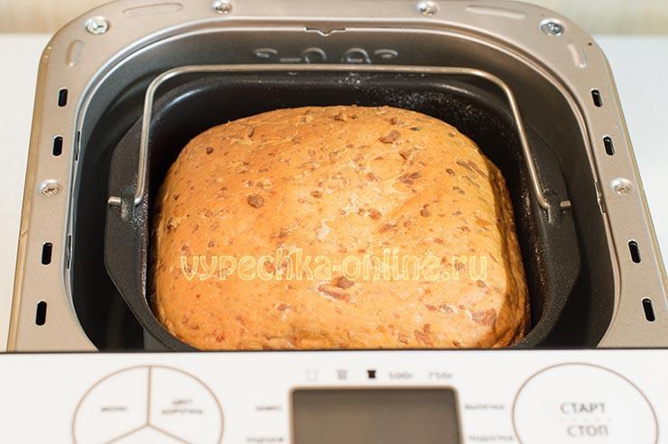 Рецепт сырного хлеба в хлебопечке