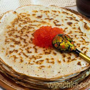 Тонкие блины на кефире и молоке с дырочками рецепт с фото пошагово
