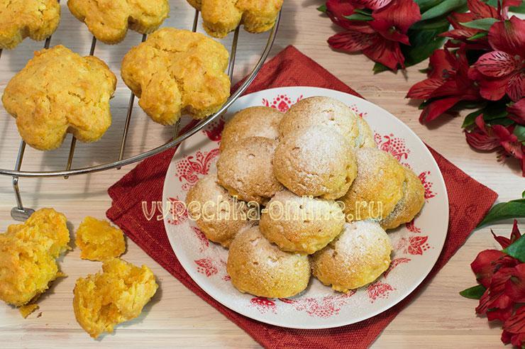 Рецепт кексов на растительном масле