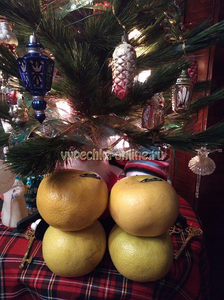 Свити это гибрид помело и грейпфрута