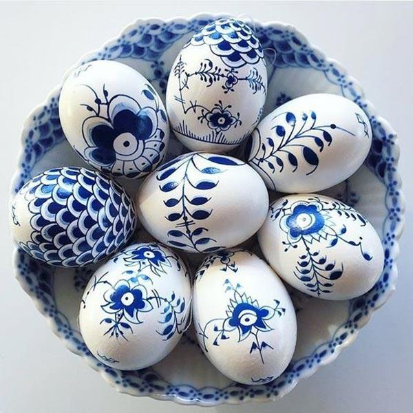 Роспись пасхальных яиц фото