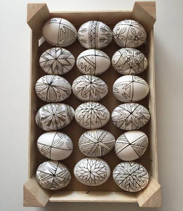 Роспись пасхальных яиц картинки