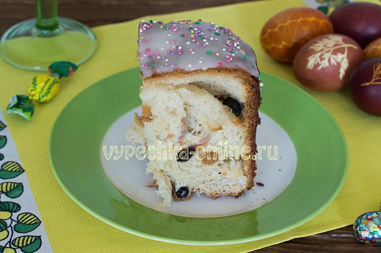 Кулич в хлебопечке вкусный рецепт с фото пошагово