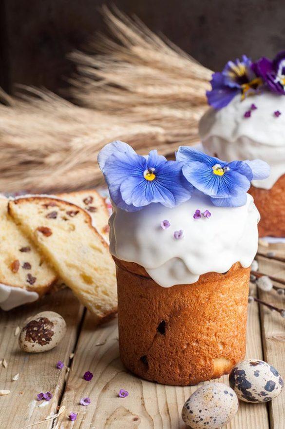 Кулич на сухих дрожжах, молоке и желтках - рецепт с фото