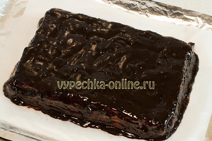 Покрытие шоколадной глазурью