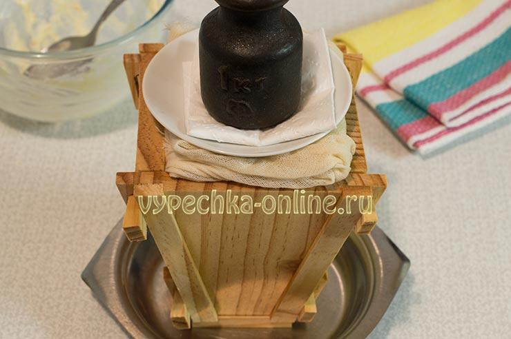 Творожная пасха со сливочным маслом без сметаны и без яиц