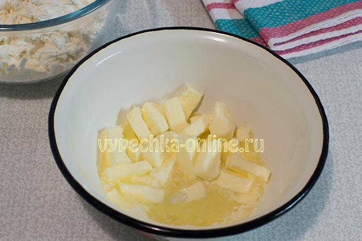 Пасха со сливочным маслом