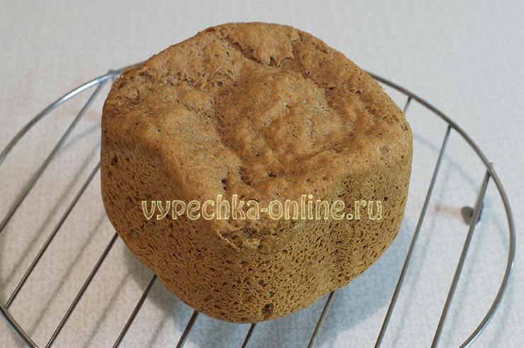 Цельнозерновой хлеб в хлебопечке рецепт