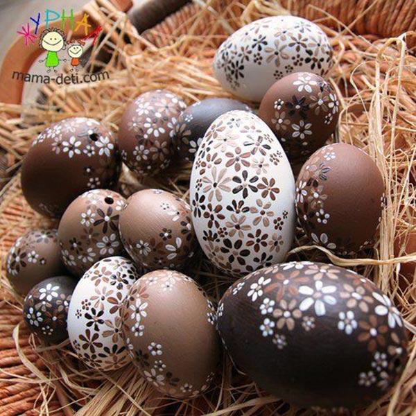 Роспись яиц на Пасху своими руками – идеи пасхальных рисунков