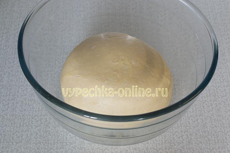 Тесто для пирожков на воде без дрожжей