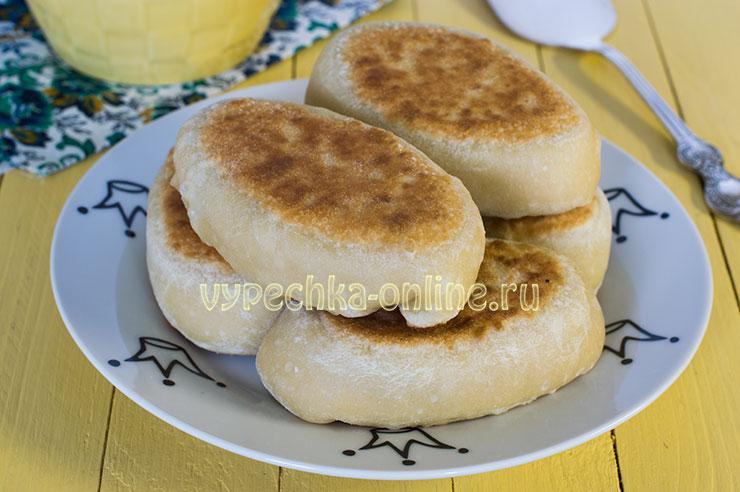 Бездрожжевое тесто для пирожков на воде - пирожки