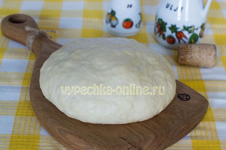 Бездрожжевое тесто для пирожков на сковороде