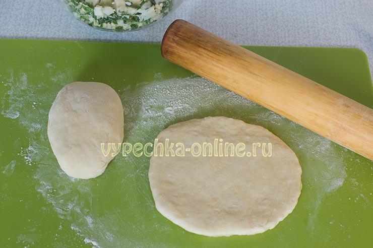 Тесто для жареных пирожков без дрожжей