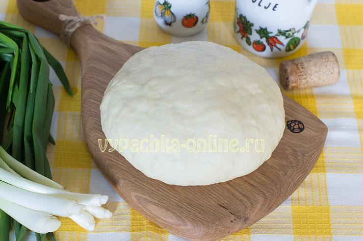 Бездрожжевое тесто для жареных пирожков на сковороде – рецепт на сметане