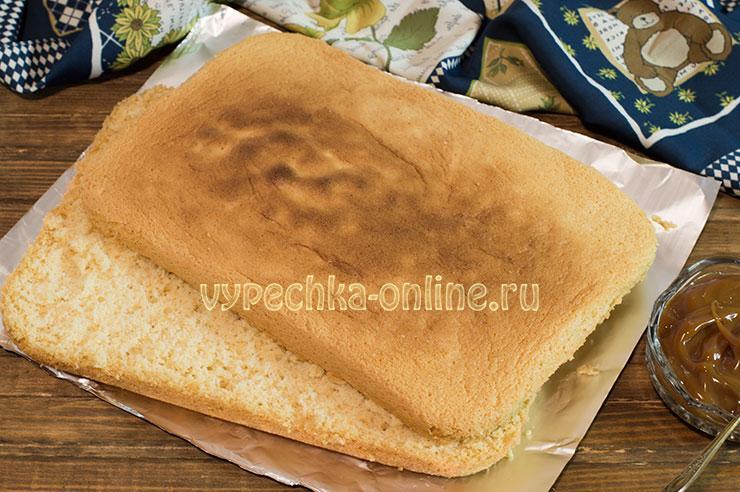 Простой рецепт пышного бисквита на желтках
